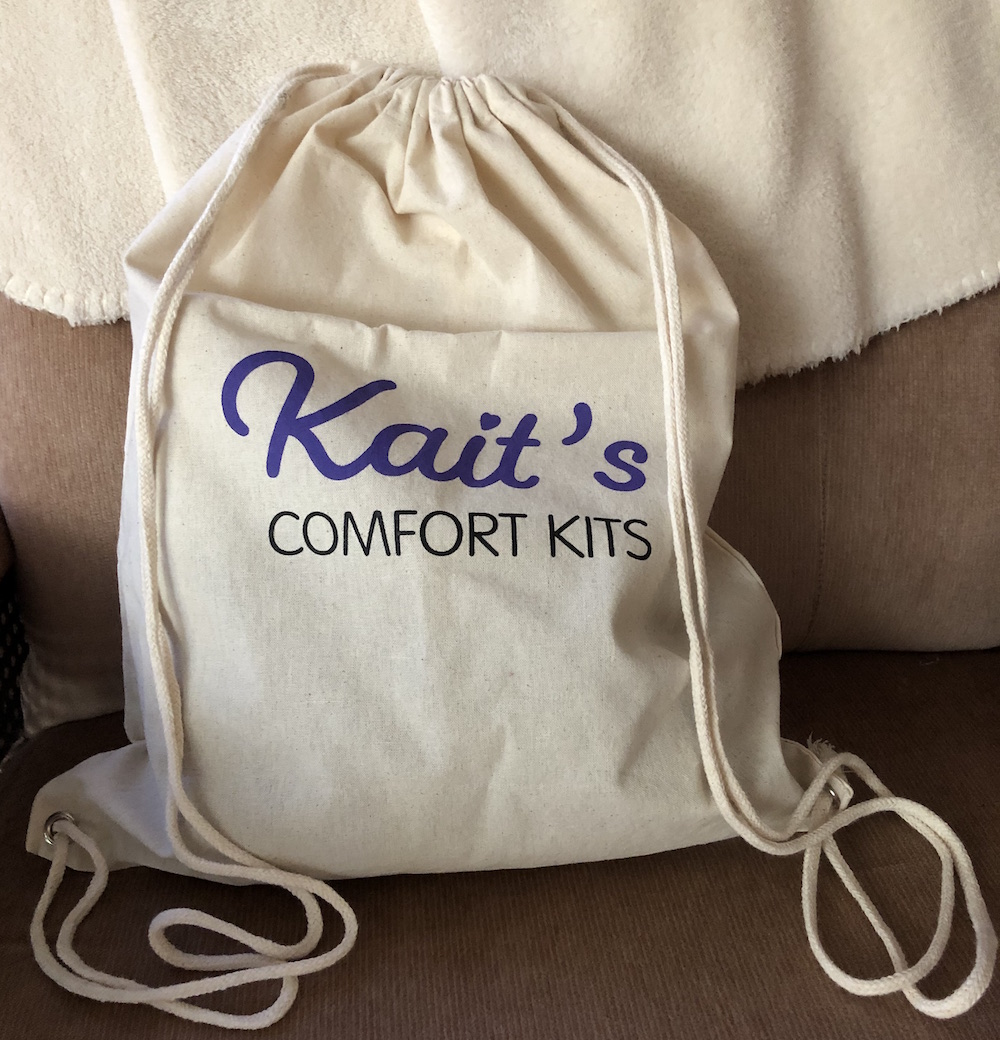 Kait's Comfort Kits Launch