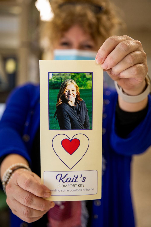 Kait's Comfort Kits card